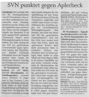 Nachbericht Holsteinischer Courier - 25.10.11 - 2. Spieltag