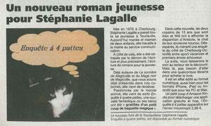 Article Presse de la Manche du mercredi 23 mai 2012, merci à Louis Lefèvre