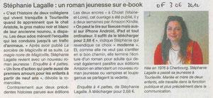 Article Ouest France du dimanche 3 juin 2012