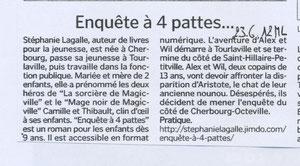 Article de la Manche libre du 23 juin 2012, merci à Nadine Sonntag