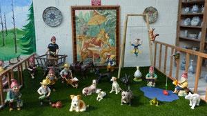 Gnomes et animaux