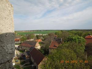 Baumersroda, Blick vom Wasserturm