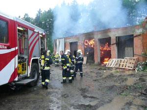 Atemschutzübung in Stainz 11.06.2012