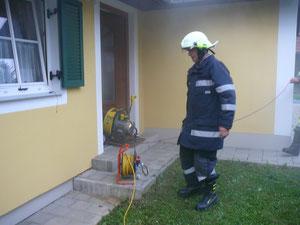 Einsatz Rauchentwicklung Grafendorf 10.06.2012