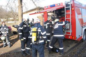 Abschnitts- Atemschutzübung 25.02.2012