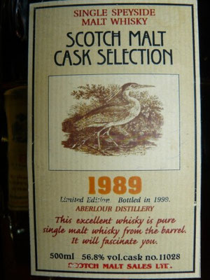 Scotch Malt Cask selection 1989 / Japan