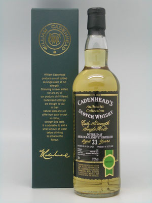 Cadenhead's 1989 - 2011 - 21yo - 57.5%