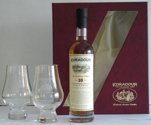 and the 20 CL with giftbox incl 2 Glencairn glasses