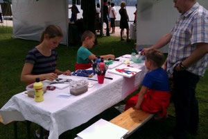 Malkurse für Kinder, Acrylbilder, Keramik, Töpfern,.....