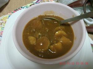 野菜は芋と玉ねぎだけw