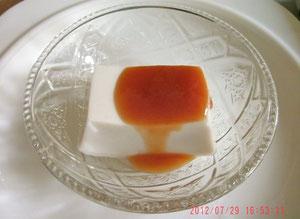 これが白胡麻豆腐