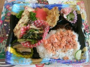 ここの弁当は魚がたっぷり食える