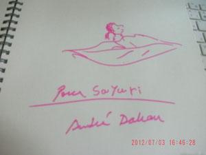 これは憧れの絵本作家の方のサイン・:*:・(*´∀`*)ウットリ・:*:・