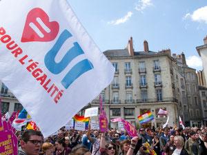 """Rassemblement """"On n'arrête pas le progrès"""" à Nantes le 20 Avril 2013"""