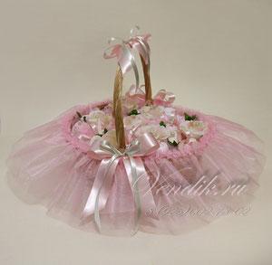 """Беби-букет из детской одежды """"Розовая нежность"""""""