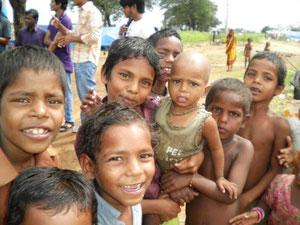 ラジニスタン流民の子ども達