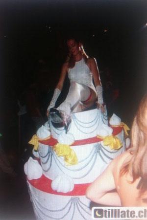 Stripgirl Linda für Geburtstagsparty
