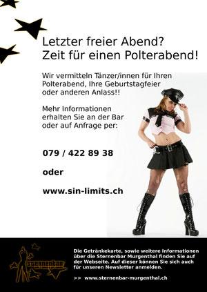 Striptease für Polterabend