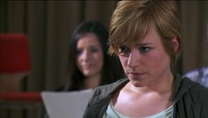 Episode 1 (yep, Emma with dark hair!)