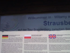 Strausberg Loves its international fans!