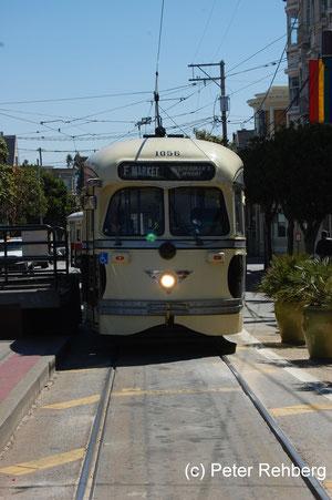 San Francisco: Castro, Endhaltestelle
