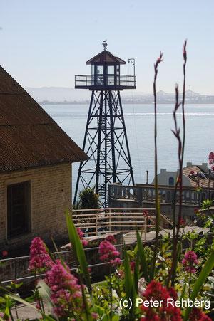 Alcatraz: Von dort oben kann man bestimmt tolle Fotos machen