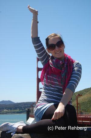 San Francisco: Simone gefällt es auch