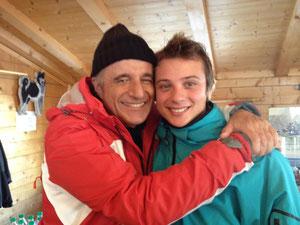 Alessio Chiodini e Christian De Sica