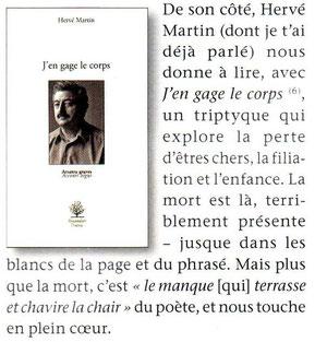 Note dans le Petit Quentin  01/2012 - Pol-Jean Mervillon