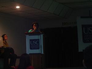 Socialización Dptos. Pedagogía y Lenguaje a cargo de la Mg. Patricia Medina Agredo