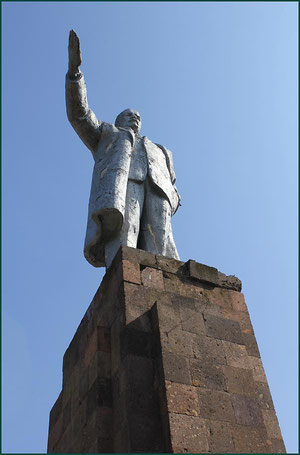 Памятник Ленину у администрации поселения. фото А. Тихонова