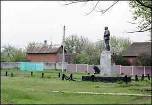 Памятник Ленину в центре, фото А.Тихонова
