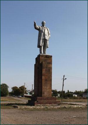 Это самый высокий памятник Леннину в области. фото А.Тихонова