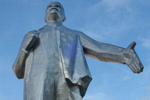 Памятник Ленину у Дома культуры