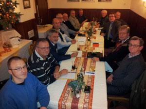 FWG/FBL Vorstand beim Arbeitstreffen in St. Goarshausen.