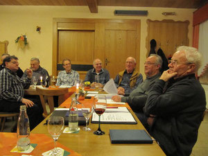 Nachdenklichkeit, Heiterkeit – aber auch Streitbarkeit in der politischen Diskussion bestimmten den Sitzungsverlauf bei der Mitgliederversammlung der FWG Loreley in Nochern.