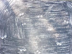 Nachts im Wald. Wackelaugen aufkleben, das konnten auch die weniger Kunstbegabten.