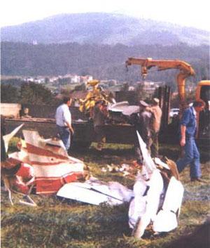 24. Sept. 1977 Flugzeugabsturz in Kolsass