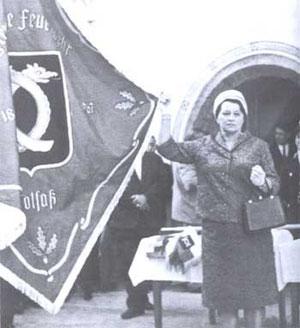 30. Juli 1967 Fahnen und Fahrzeugweihe