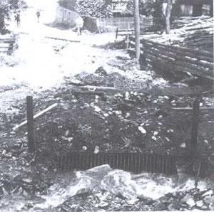 14. Aug. 1966 Wasserschäden und Vermurungen