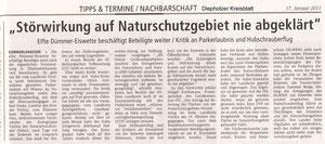 Diepholzer Kreisblatt vom 17.01.2011