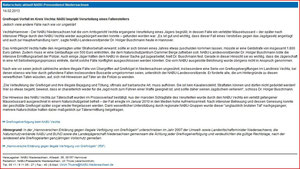 Pressemitteilung des NABU Niedersachsen  vom 14.02.2013