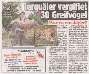 BILD - Zeitung vom 07.05.2011
