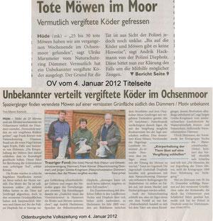 OV  vom 04.01.2012