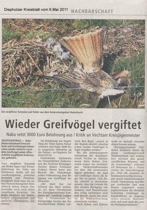 Diepholzer Kreisblatt 06.05.2011
