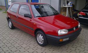 VW Golf 3 danach