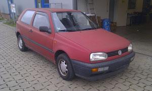 VW Golf 3 vorher