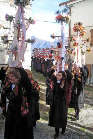 Cavagnette di Vagna e Viganella a Domodossola in occasione di san Brizio 2011