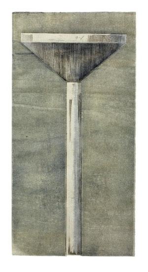 TURM II  2001  40 x 19,5 cm