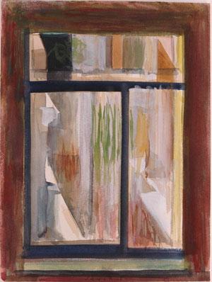 HOLZHOFGASE  2004  Aquarell  32 x 24 xm